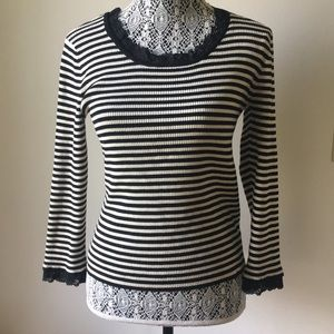 Jones Naw York Sweater with Lace Details
